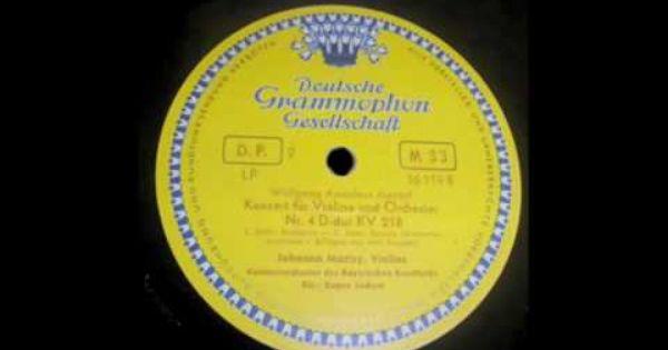 Johanna Martzy Lp Brahms Concierto En Re Mayor Espana Concierto Discos De Vinilo Escuchando Musica