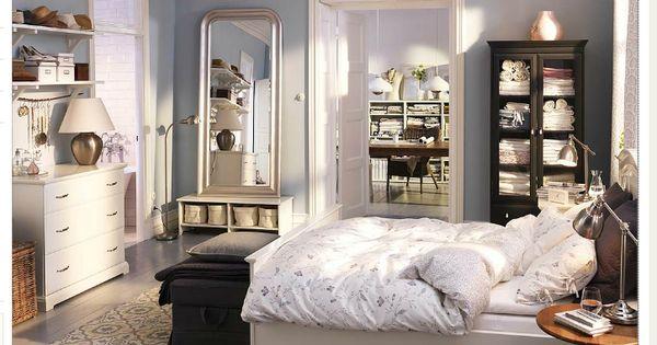 Ikea room mixing dark and light furniture home sweet - Habitaciones de ikea ...