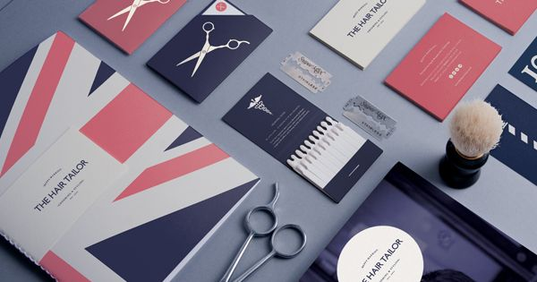 The Hair Tailor on Behance - The logo for The Hair Tailor
