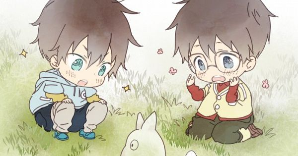 Ao no Exorcist and my neighbor totoro crossover