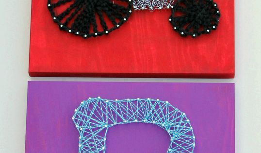 how to diy string art for kids kreativ kunstw nde und. Black Bedroom Furniture Sets. Home Design Ideas