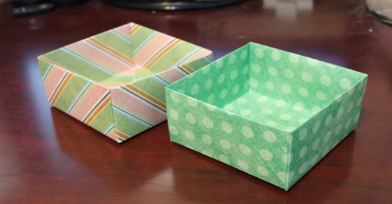 Paper Box - How To Make A Box from Paper That Opens And Closes ... | 292x560
