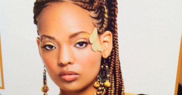 African Goddess Braids: African Braid Hair Styles. African Goddess Braids