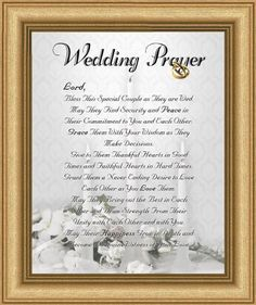 Biblical Wedding Anniversary Wishes Wedding Marriage Anniversary Prayer Satin Gold Frame 8 X 10 Marriage Anniversary Wedding Day Quotes Wedding Prayer