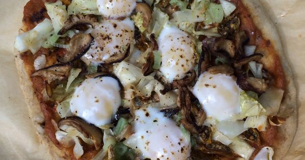 Quail eggs, Flatbread pizza and Roasted cabbage on Pinterest