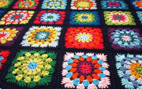 Old Fashioned Granny Squares With A Twist They Re