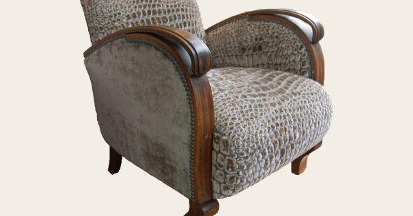 simon j gou artisan tapissier nantes fauteuil ann es 30 fauteuils tissus petits meubles. Black Bedroom Furniture Sets. Home Design Ideas