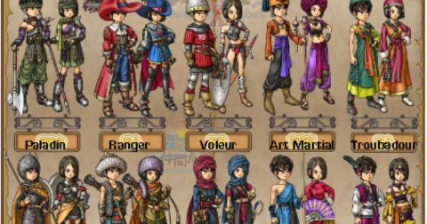 Dragon Quest 9 Dragon Quest 9 Dragon Quest Character Design