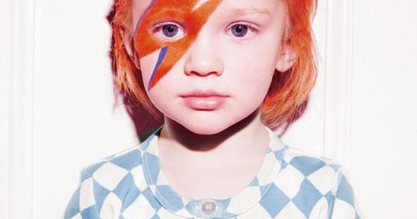 david bowie... great halloween costume idea for a little boy!