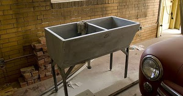 Rescued Soapstone Utility Sink