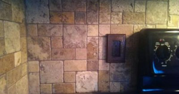 Shop Scabos Natural Stone Mosaic Wall Tile Common 12 In