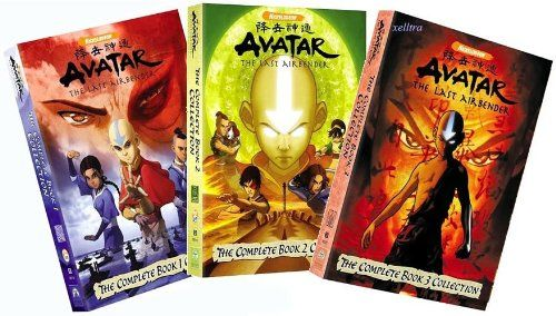 Avatar The Last Airbender The Complete Book 1 3 Collection