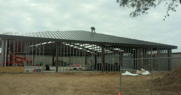 Standing Seam Metal Roof In Progress Standing Seam Metal Roof Standing Seam Metal Roof
