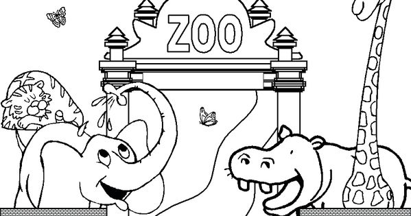 zoo coloring pages free printable enjoy coloring animals coloring pages pinterest zoos. Black Bedroom Furniture Sets. Home Design Ideas