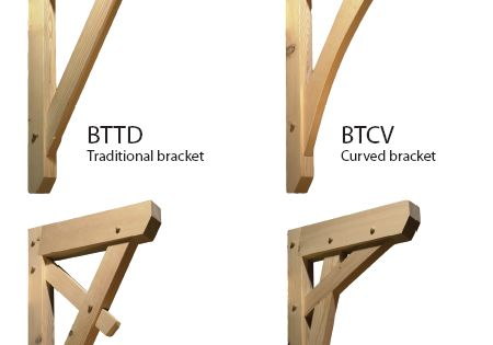 Knee Brackets With Daizen Joinery Method Joinery