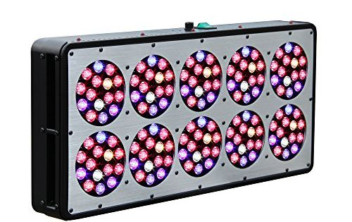 Reflector Series 450w Led Grow Light Veg Flower Full Spectrum For Indoor Plants Substitute Hps Mh 1000 Watt Review With Images Led Grow Lights Grow Lights Indoor Grow Lights