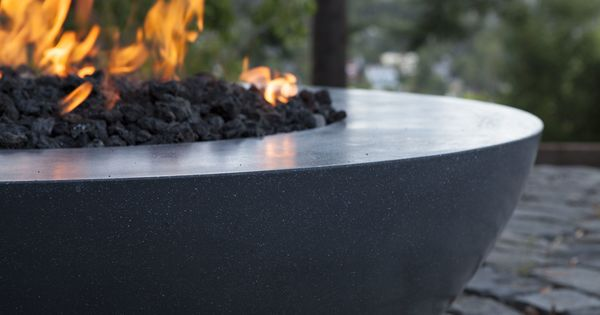 tinder fire table hemisphere concreteworks fire features
