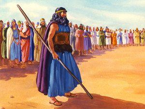Elijah Proclaimed I Am A Lone Prophet Of The Lord But Baal Has 450 Prophets Slide 25 Elijah Christian Pictures Prophet