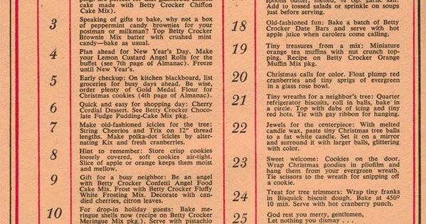 What you really needed to do before Christmas in 1958 (from Dec.