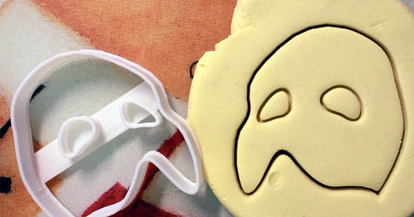 Phantom of the opera, Opera and Cookie cutters on Pinterest