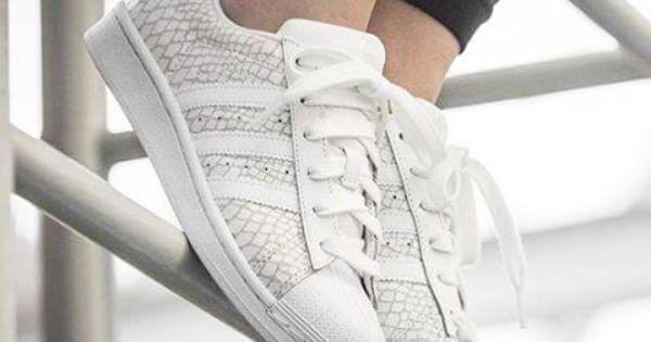 Chaussures Adidas Superstar avec Paillettes et avec Dentelle