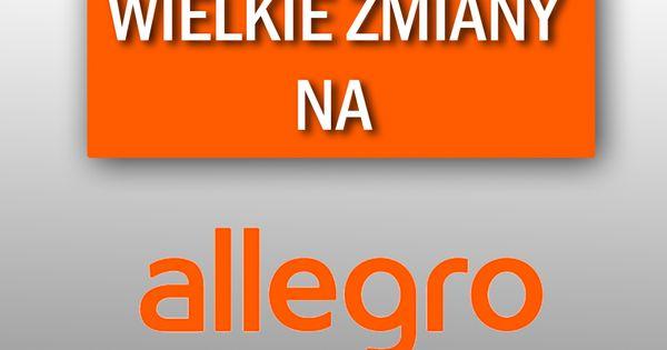 Jezeli Interesujecie Sie Zmianami Na Allegro To Zapraszamy Do Zapoznania Sie Z Wpisem Na Ponizszym Blogu Http E Prom Gaming Logos Logos Nintendo Wii Logo