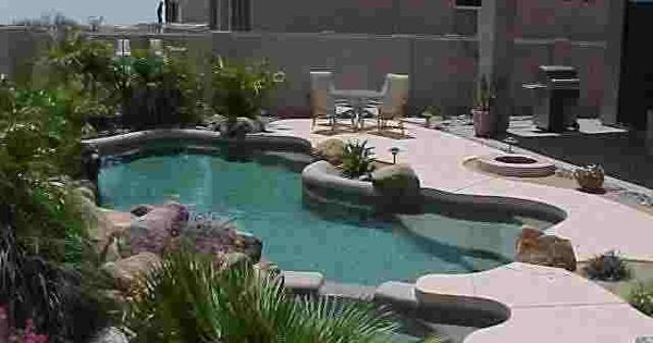 Pool landscaping ideas below are a couple examples of for Pool design examples