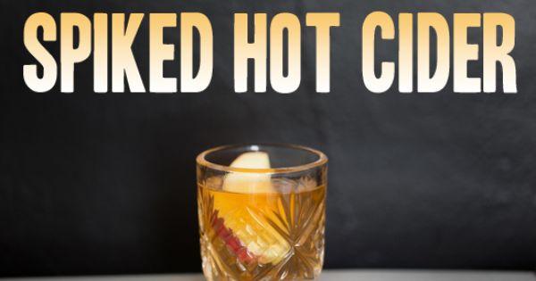 Fall cocktails, Cocktails and Apple cider on Pinterest