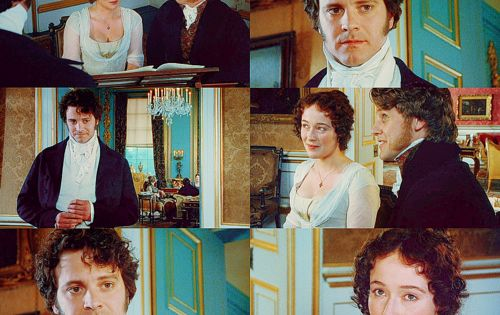 Pride & Prejudice - love this scene - wore out my old