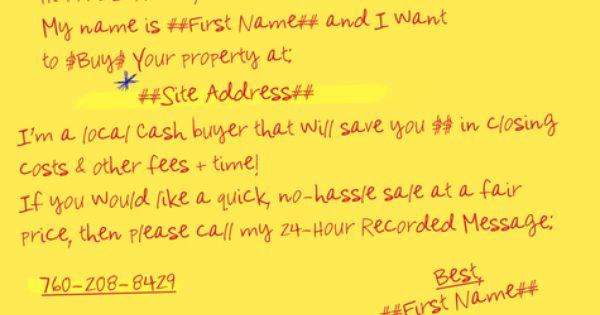 Gobig Yellow Letter I Buy Houses Jumbo 01 0 53 Http Www