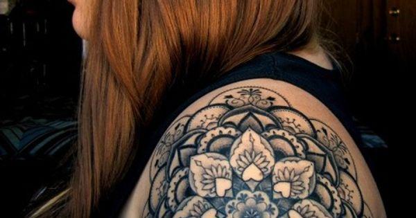 cool mandala tattoo design
