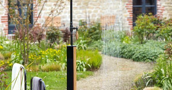 Gartendusche Erfrischung Im Sommer Gartendusche Garten Und Outdoor Und Gartendesign Ideen