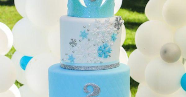 disney frozen cake ideas | Disney's Frozen Inspired Birthday Party {Ideas, Decor,