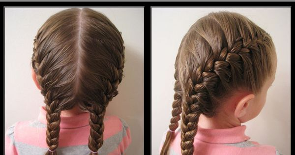 How to French Braid Video French braid braids ALL kinds of little