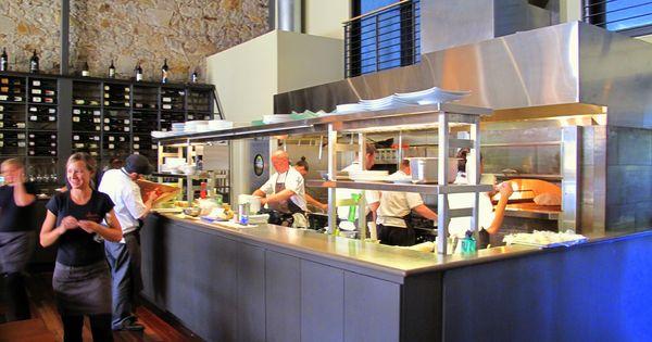 Ubuntu Napa Open Kitchen Restaurant Simple Kitchen Cabinets Restaurant Kitchen Design