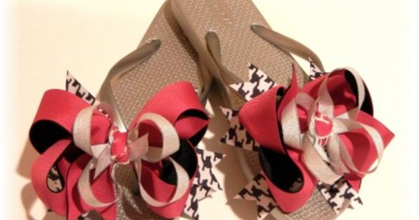 Interchangeable Flip Flops - {The Ribbon Retreat Blog} AWESOME!!!!!!!!!!!!!!!!!!!
