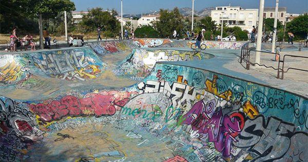 Skate Parks In The World 8 Coolest Best Largest Marseille Skate Park France Skate Park