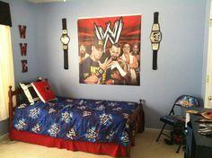 Wwe Wrestling Rugs Bedroom