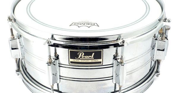 Pearl export 14x6 5 steel snare drum drums pinterest for Yamaha stage custom steel snare drum 14x6 5