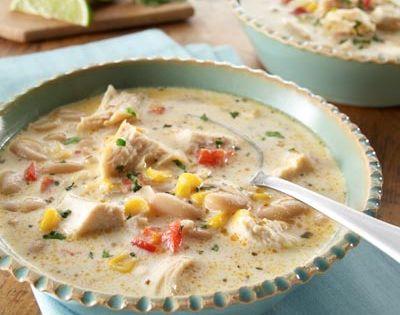 crock-pot cream cheese chicken chili
