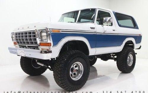1979 Ford Bronco Ranger Xlt Sport Utility 2 Door 460 Ci V8 4x4 W A C Ford Bronco 1978 Ford Bronco Trucks