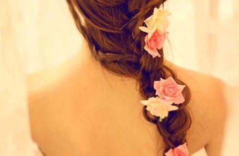 Bridesmaid hair idea perhaps? :)
