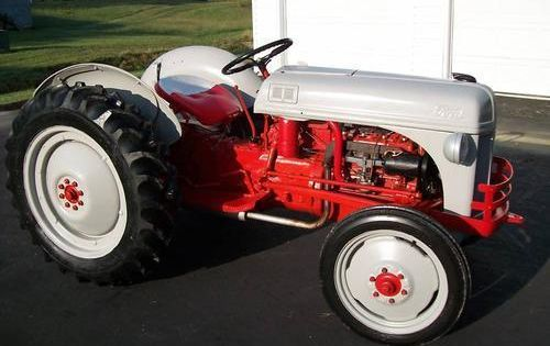 Tractor Gears Turning : Ford n tractor i never owned a but this is