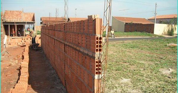 Passo A Passo Para Construir Um Muro Meia Colher