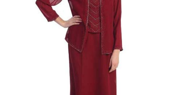 Burgundy_plus_size_mother_of_the_groom_dresses_with_jacket