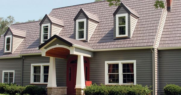 Steel roofs arrowline roofing steel shingles edco metal roofing products metal roofing for Hot tin roof custom home design