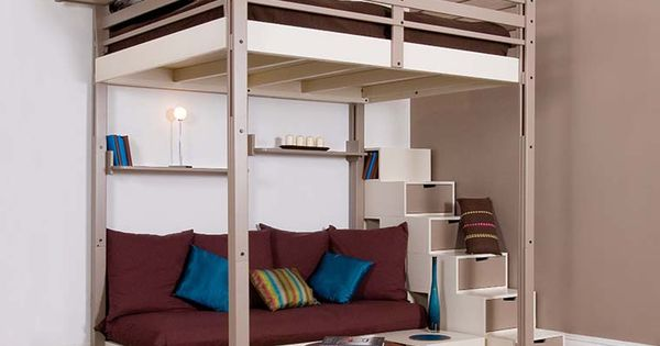 Lits mezzanines espace loggia deco pinterest enfant mezzanine et int - Mezzanine espace loggia ...