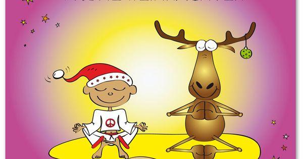 frohe weihnachten weihnachten pinterest yoga xmas. Black Bedroom Furniture Sets. Home Design Ideas