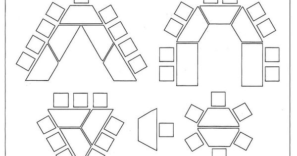 Kindergarten classroom table - Desk Arrangement Hexagon Tables Google Search