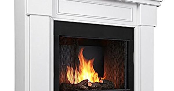 Real Fame Hillcrest Gel Fireplace White With Images Gel